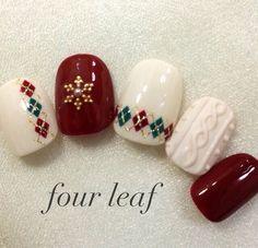 Ideas For Shellac Pedicure Winter Nailart Nail Art Noel, Holiday Nail Art, Xmas Nails, Winter Nail Art, Christmas Nail Art, New Nail Designs, Winter Nail Designs, Christmas Nail Designs, Shellac Pedicure