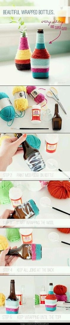 Yarn bottle