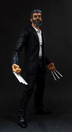 Marvel Legends DC Universe Wolverine Logan Movie Custom Figure Hasbro Toybiz   Toys & Hobbies, Action Figures, Comic Book Heroes   eBay!