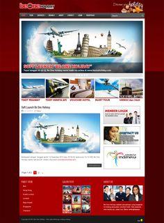 Be One Holiday. #website #design #portfolio