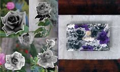 Sign up to Liberty Loyalty today and receive one of four special edition cards for new members. Head of Design for Liberty, James Millar, designed this eye-catching purple and greyscale rose print limited edition card - created by layering photographs of roses taken on a recent inspiration trip to Granada.