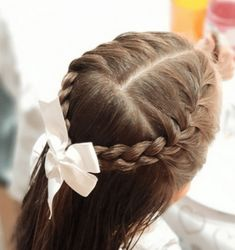 35 + Cute Girls Hairstyles - www. 35 + Cute Girls Hairstyles - www. Cute Toddler Girl Hairstyles, Kids Girl Haircuts, Easy Little Girl Hairstyles, Easy Hairstyles For School, Boy Hairstyles, Childrens Hairstyles, Trendy Hairstyles, Long Haircuts, Hairstyles Pictures