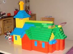 Duplo building - Old church Vichte