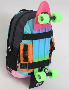 I never thought I needed this Skateboard Backpack, Skateboard Deck Art, Penny Skateboard, Skateboard Girl, Skateboard Design, Surfboard Art, Mochila Edc, Long Skate, Cool Skateboards