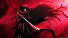 Akame Ga Kill Girl Sword HD Wallpaper