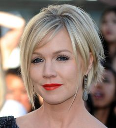 celebrity short hairstyle bangs