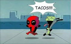 Deadpool and Gir