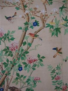 I love this antique Chinese wallpaper. Is something like this available?