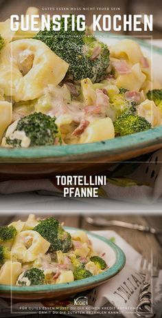 Ich kenne kaum jemanden der Tortellini nicht genau so gerne mag wie andere Pasta. I hardly know anyone who does not like tortellini as much as other pasta and therefore this recipe has its absolute justification. Inexpensive cook in no time. Tortellini, Easy Bread Recipes, Pizza Recipes, Crockpot Recipes, Meal Recipes, Healthy Salad Recipes, Vegetarian Recipes, How To Cook Pasta, Italian Recipes