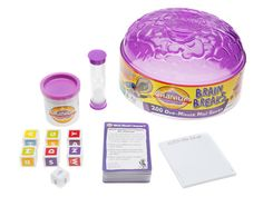 """""""Hasbro has squeezed more than 200 games that can be played in a minute or less into Cranium Brain Breaks ($12.00;"""")"""