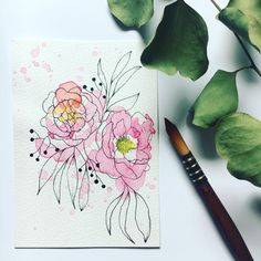 Happy Monday, happy peony! 🌸 We need more flower emojis, am I right?! I will start a petition for a peony emoji 😅 Hope your week started off well! Take care and lots of love, Pia x 💕 . . . .  #peony #floralsyourway #flowerstagram #botanicallinedrawing #sketch #sketchbook #botanicaldrawing #tattoo #flowertattoo #linework #dotwork #flowers #art #artistsofinstagram #instaartwork #fineliner #fineart #micronpen #cansonpaper #design #illustration #illustrationnow #blackworknow… Botanical Line Drawing, Botanical Drawings, We Need, Happy Monday, Hope You, Peonies, Dots, Fine Art, Illustration
