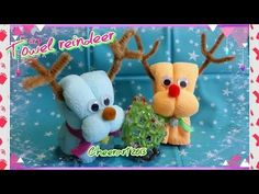 Towel reindeer tutorial ( Christmas idea)毛巾小鹿教學 - YouTube