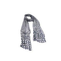 Echarpe Floral com Listra de Algodão #echarpes #lenços #lenço #scarf #scarfs