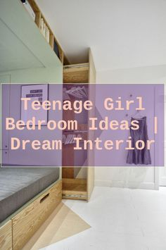 Need ideas for your teenager's bed room? We found plenty of inspiration to decorate a teen's space that they'll totally enjoy. #bedroomdecor #Loft des... Bedroom Bed, Dream Bedroom, Bed Room, Girls Bedroom, Bedroom Decor, Teen Bedding Sets, Teen Girl Bedding, Striped Curtains, Teenage Girl Bedrooms