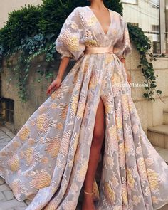 Elegant V-Neck Lantern Sleeve Pleated High Waist Embroidered Print Maxi Dress - cocktail party dress,elegant evening dresses,fashion dresses party Source by amourdetoile - Ball Dresses, Ball Gowns, Evening Dresses, Prom Dresses, Summer Gowns, Afternoon Dresses, Flapper Dresses, Dresses With Sleeves, Elegant Dresses