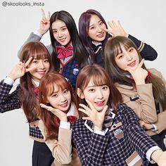Image may contain: 7 people Kpop Girl Groups, Kpop Girls, Alisha Newton, Sakura Miyawaki, Fandom, Yu Jin, Japanese Girl Group, Kim Min, 3 In One
