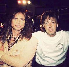 Steven with Sir Paul McCartney
