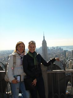 Amazing NY with my best friend...
