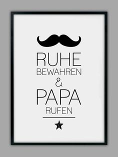 """Original print - """"PAPA CALL"""" print, gift, father - a designer piece by Sma . - Original print – """"PAPA CALL"""" print, gift, father – a unique product by Smart-Art-Art Prints on - Birthday Quotes For Him, Smart Art, Presents For Kids, Gifts Under 10, Some Words, Quotes For Kids, Gifts For Father, Small Gifts, Diy For Kids"""