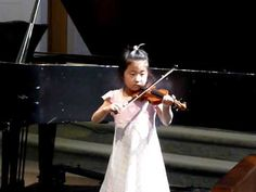 first recital (1 of 2) [Suzuki Violin School Volume 1, May Song]; After almost 5 months of lessons—See more of this young violinist #from_Hannah95066