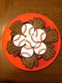 Baseball Cookies Baseball Cookies, Sugar, Desserts, Sports, Food, Hs Sports, Postres, Deserts, Sport