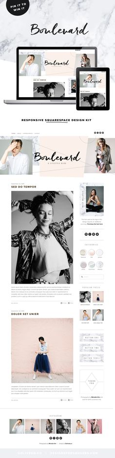 Squarespace branding and marketing advice for small business owners and entrepreneurs Website Layout, Blog Layout, Web Layout, Website Design Inspiration, Blog Website Design, Website Ideas, Website Styles, Nice Website, Brand Inspiration