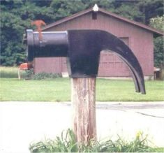 3ad10521 Ready to make fun of your mailbox? A mailbox (or you can call it
