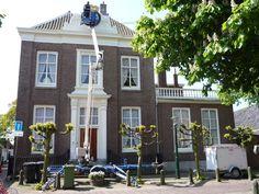Herenhuis in centrum van Wassenaar geschilderd door Sibbing Schilderwerken.