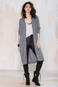 Cheap Monday Slouch Midi Cardigan - Cardigans | Newly Added |  | Sweaters