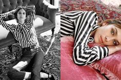 Europe Fashion Men's And Women Wears......: ALEXA CHUNG IS PURE COOL IN AG JEANS FALL 2016 ADS...