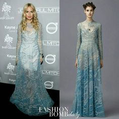 @RachelZoe brought undeniable grace and sophistication to the annual Baby2Baby Gala in a pastel blue @MaisonValentino Pre-Fall 2016 gown. Thoughts? #fashionbombdaily #instastyle #instafashion #rachelzoe #celebritystyle #valentino #fashion #style #realstyle