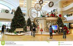 christmas mall decoration - Google Search