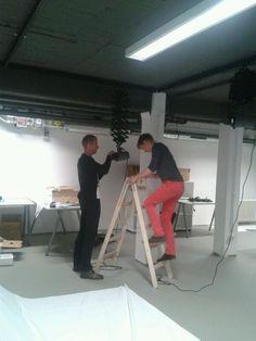 Die Arbeiten zu unserem TWT TV Foto- und Film-Studio laufen auf Hochtouren!