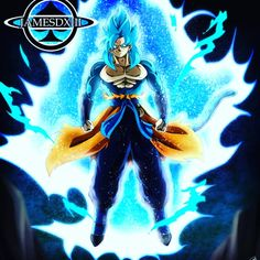 Goku xeno super saiyajin 4 blue Dragon Ball Z, Dragon Art, Anime Manga, Anime Art, Ssj3, Dbz Characters, Star Wars Clone Wars, Kawaii Anime, Character Design