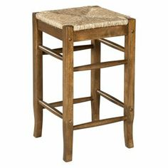 Linon Tulsa Rush Seat Counter Stool 24 in. - About Linon Home DecorLinon Home Decor Products has established a reputation in the market for providing the ...  sc 1 st  Pinterest & 3 CHROMCRAFT Kitchen Bar Stools Black Wrought Iron Upholstered ... islam-shia.org