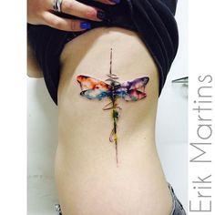 Dragonfly! A libélula (dragonfly em inglês) transmite tanto uma aura de mágica e…