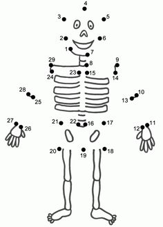 Halloween Skeleton Template Cut Out | Holidays | Pinterest ...