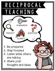 Expected that reciprocal teaching anchor charts Content may