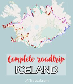 Complete Iceland roadtrip. Best attractions by the complete Iceland road trip. #FreeTravelGuides