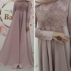 Top Ideas For Desain Dress Brokat Modern Dress Brokat Muslim, Dress Brokat Modern, Kebaya Muslim, Muslim Dress, Hijab Gown, Hijab Dress Party, Mode Abaya, Mode Hijab, Abaya Fashion