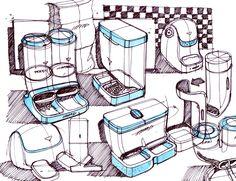 Daily Sketches from Industrial Designer, Spencer Nugent - Page 358 Line Sketch, Sketch A Day, Sketch Inspiration, Design Inspiration, Render Design, Drawing Sketches, Drawings, Industrial Design Sketch, Mechanical Design