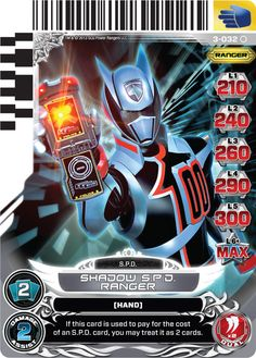 power rangers spd cards - Bing images