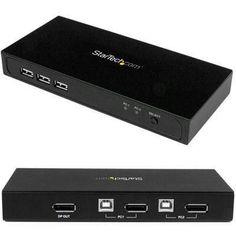 2 Port Displayport Kvm Switch