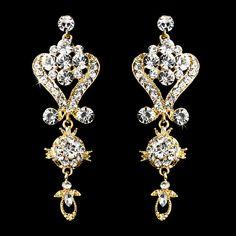 Bridal Earrings Wedding Earrings Wedding by goddessdesignsgems