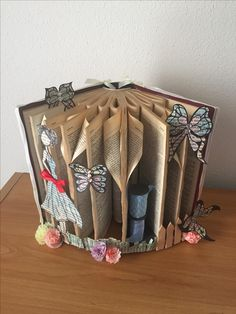 Book Folding Old Style