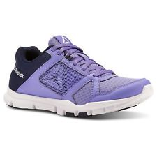 Reebok Women s Yourflex Trainette 10 in Purple   Navy   White   Grey Size  11 - Training Shoes d3f6a1667