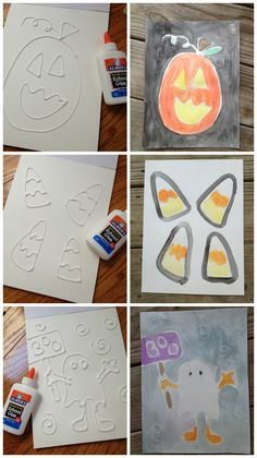 This is one of my FAVORITE crafts with glue.  Everyone knows that I love to draw with Sharpie markers but truth be know, drawing with glue is way fun too!  Here is a spectacular craft project that …
