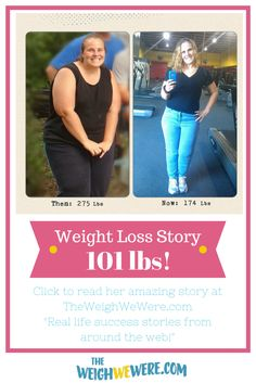 Keeping a food diary helped Krystie lose 101 pounds!  Check out her story...