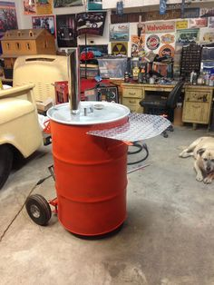 From my Flickr pages. Building a Pit Barrel Smoker, aka ugly drum smokers