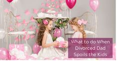 What to do When Divorced Dad Spoils the Kids Dealing With Divorce, Parenting Issues, Spoiled Kids, Divorce Attorney, Detroit Area, Dawn, Flower Girl Dresses, Women, Spoiled Children